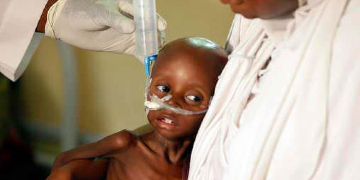 80 mil niños morirán de hambre en Nigeria
