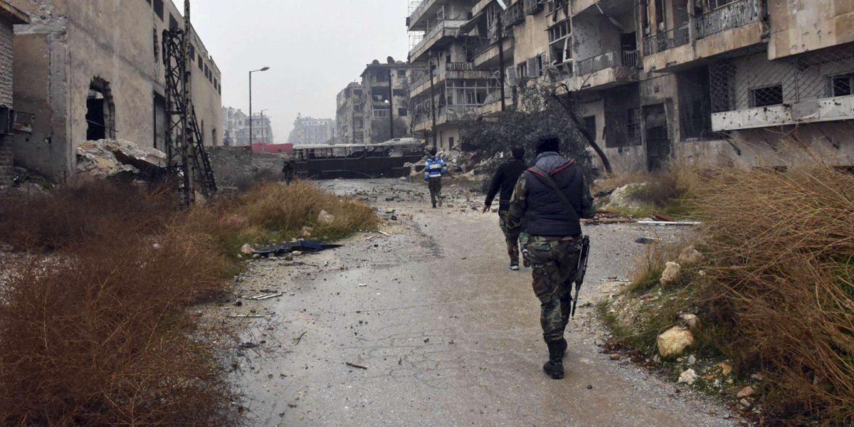 Siria: Residentes de Alepo se despiden por internet