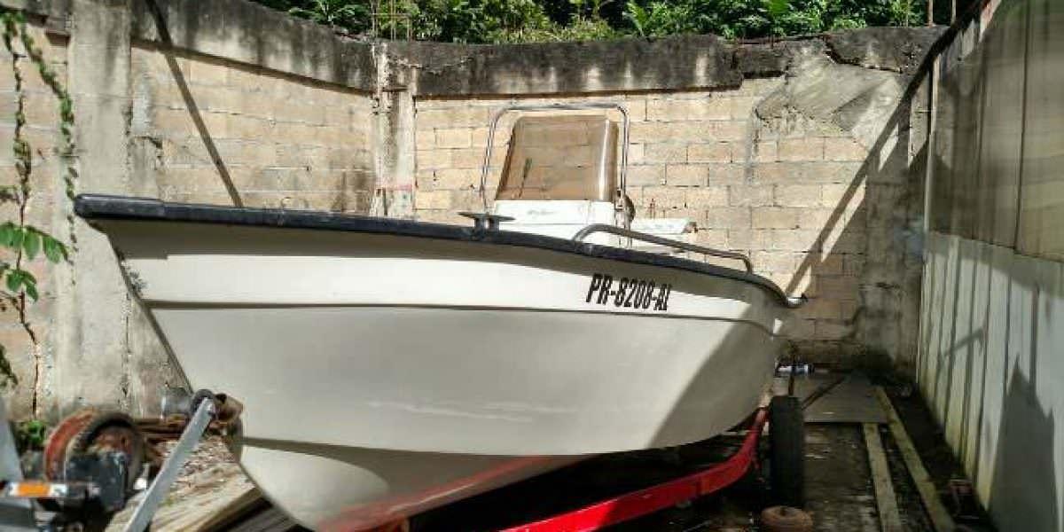 Ocupan arma, drogas y un bote robado en Aguada