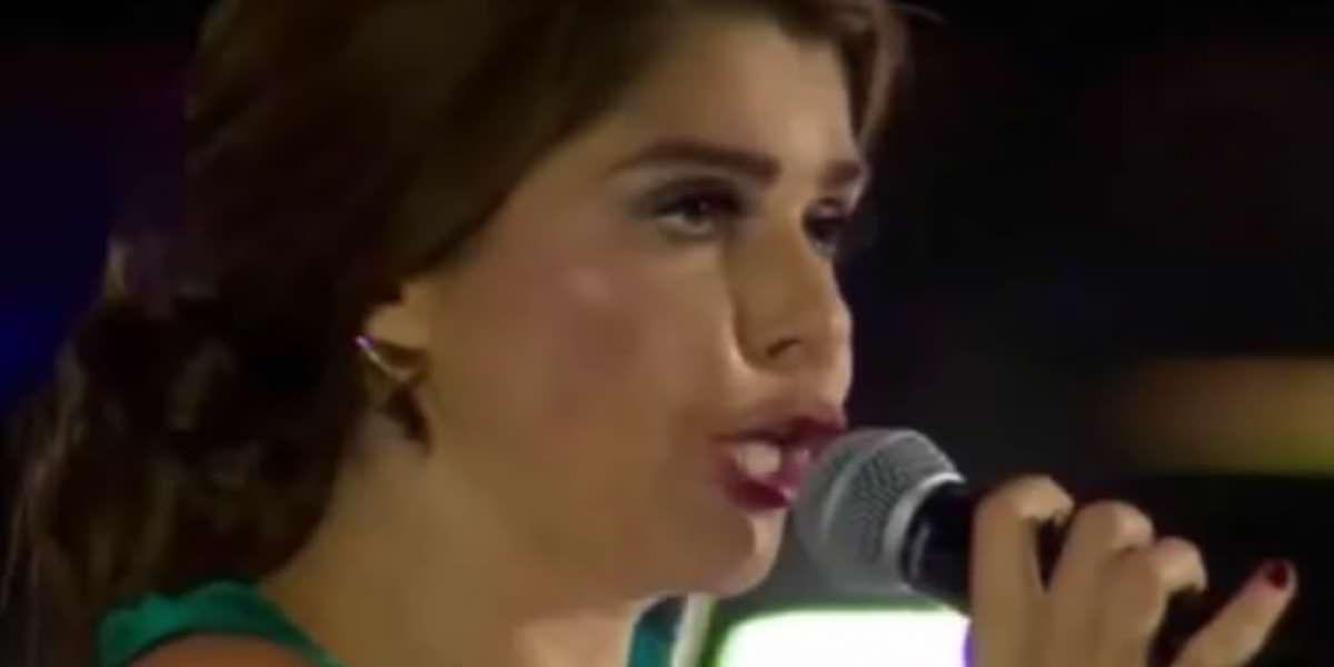 ¿Itatí Cantoral le canta ebria a la Virgen de Guadalupe?