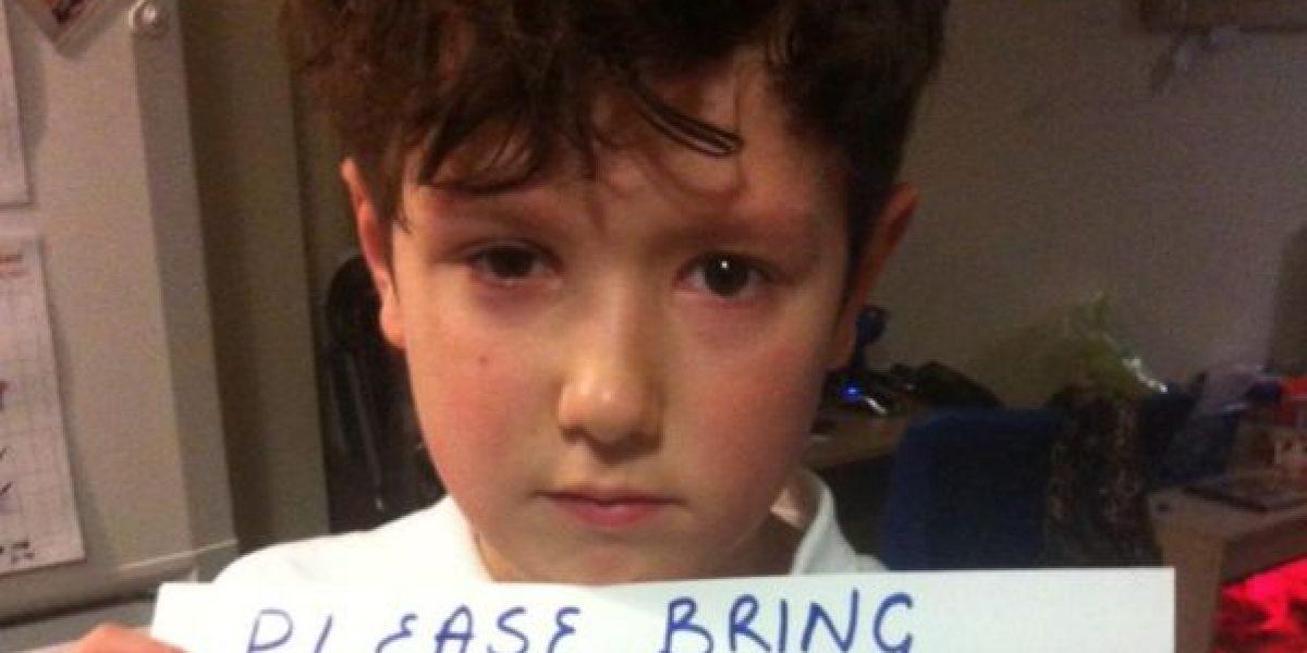 Viral mensaje de niño que le vendieron celular dañado