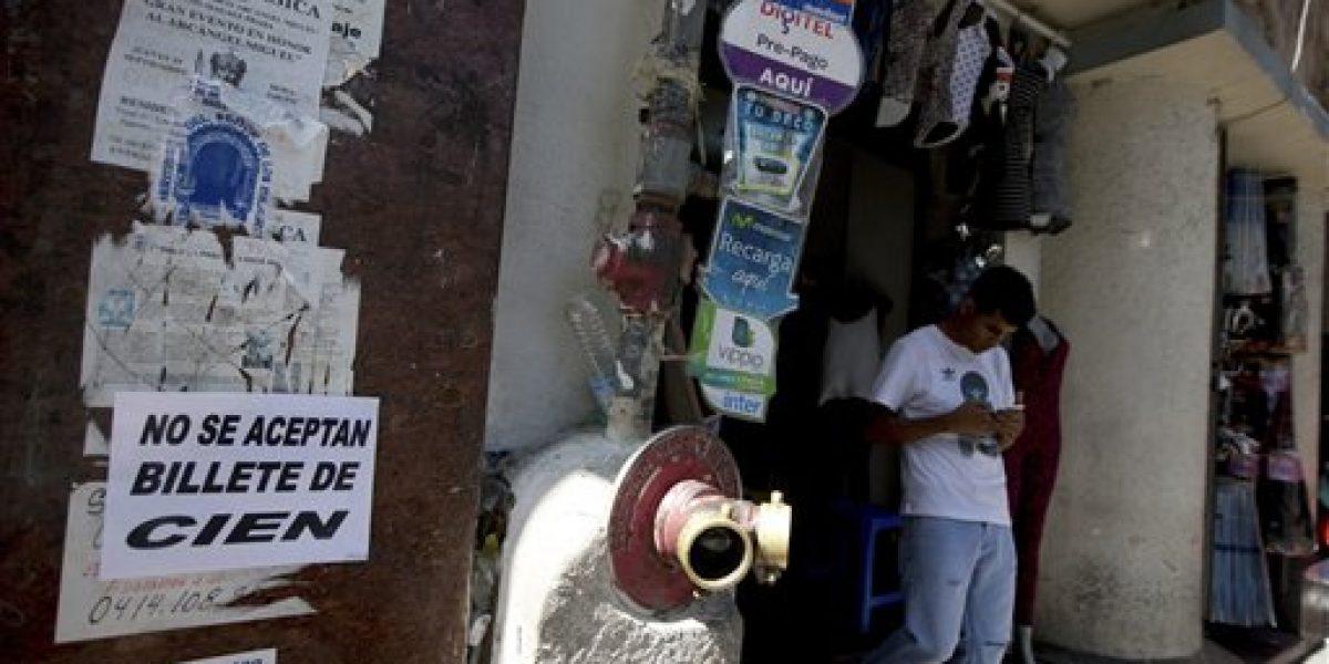 Venezuela saca de circulación billete de mayor denominación
