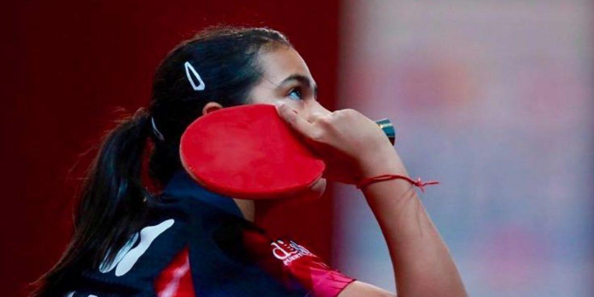 Adriana Díaz a la final de Abierto de Tenis de Mesa de EE.UU.