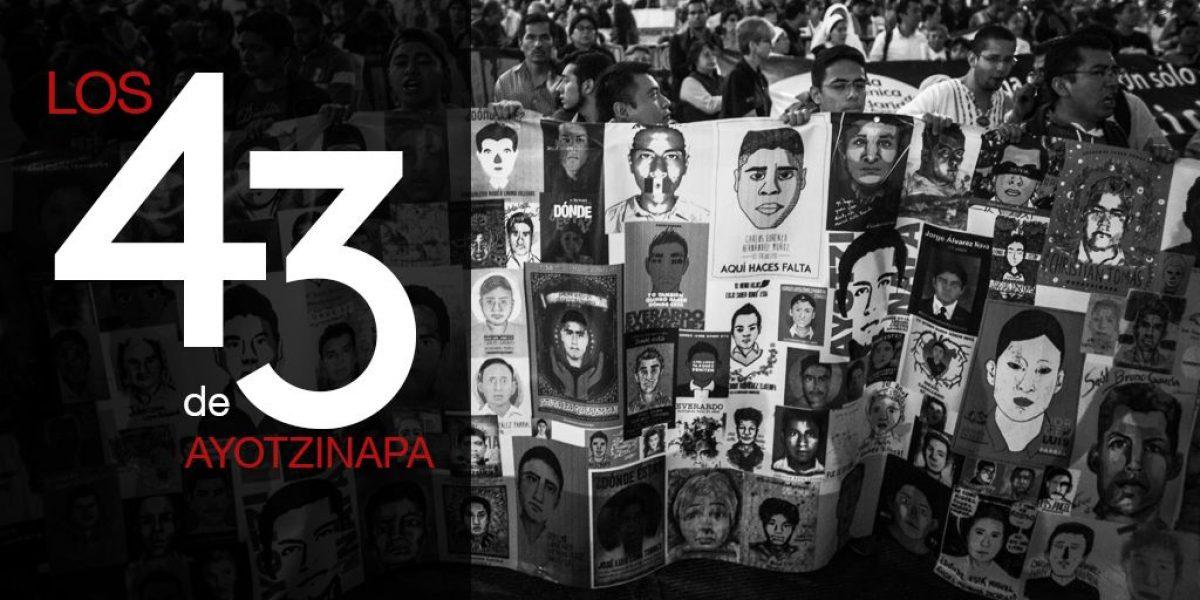 Divulgan investigación de los 43 estudiantes desaparecidos