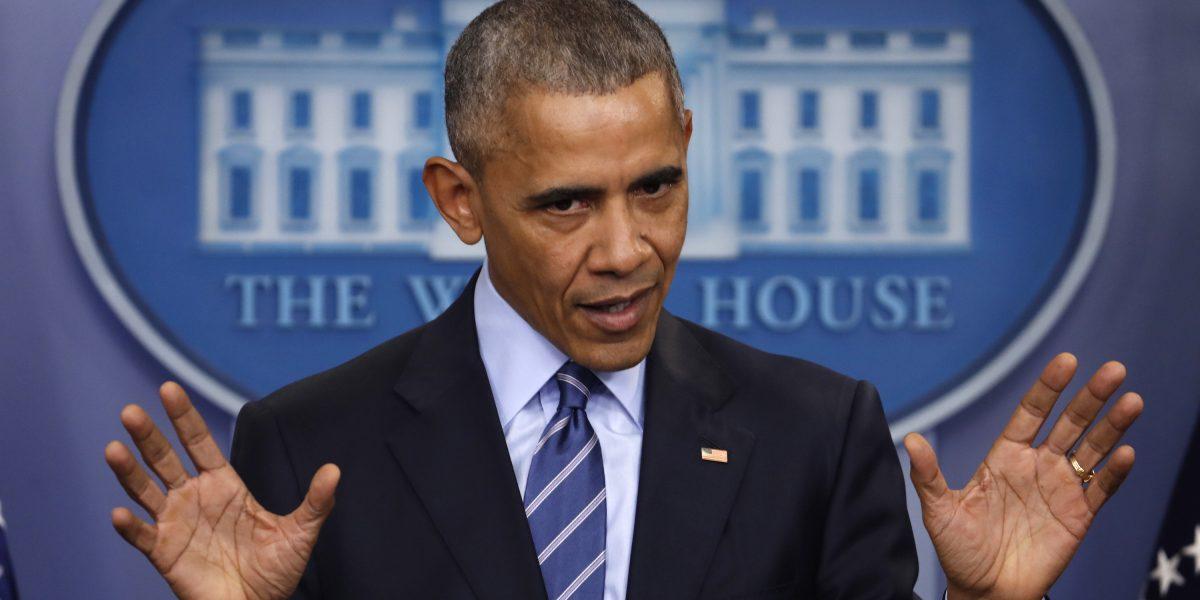 Barack Obama escribe su último mensaje de Navidad como presidente