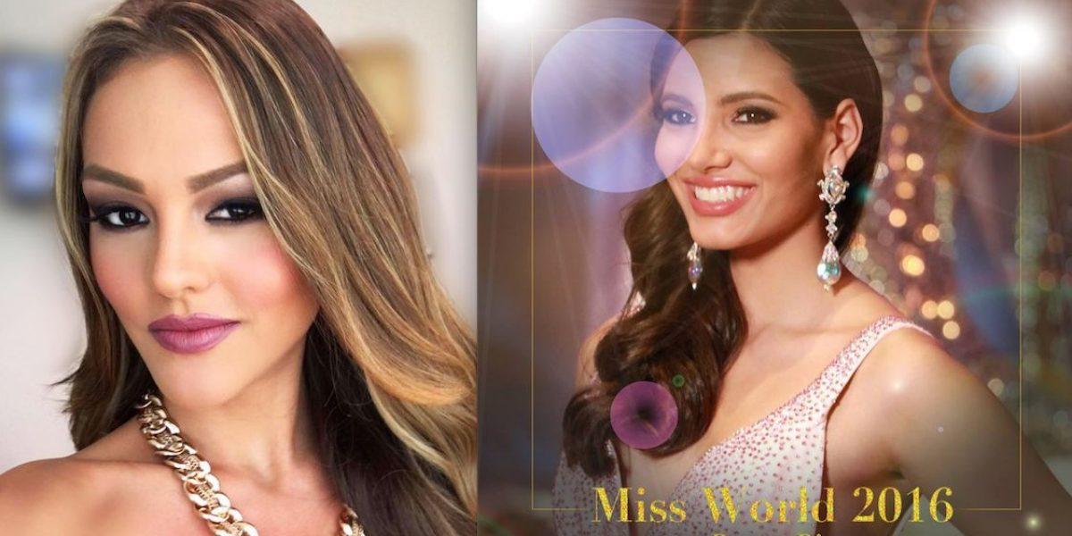 Kristhielee Caride felicita a la nueva Miss World 2016