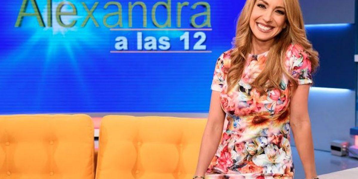 Alexandra Fuentes cambia de programa
