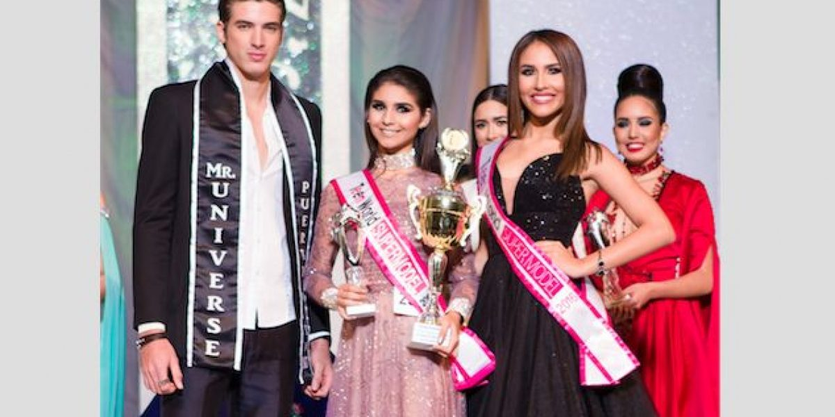 Hatillana se luce en la pasarela de Miss Teen World Supermodel