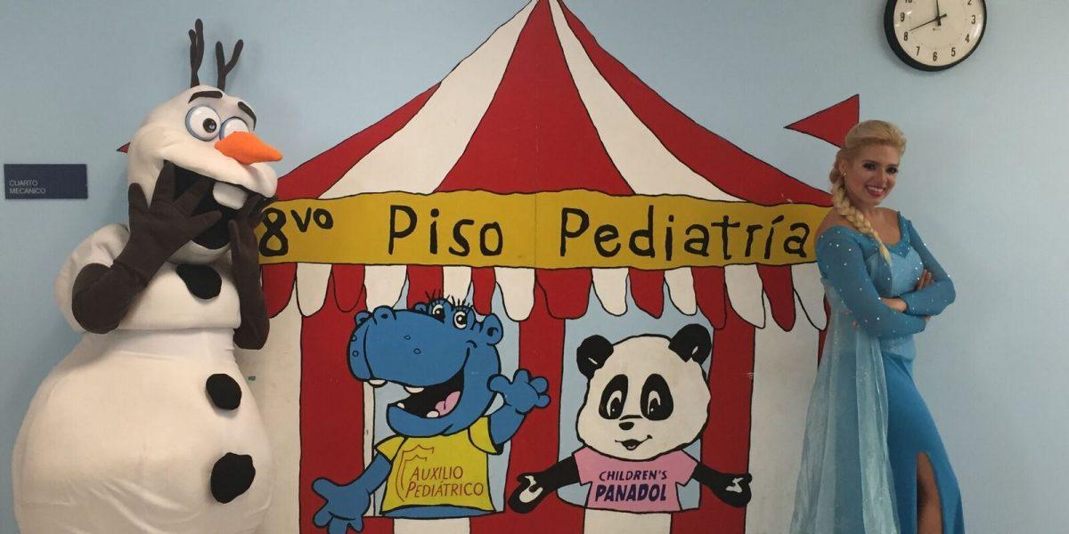 Llega la Navidad para pacientes pediátricos del Hospital Auxilio Mutuo