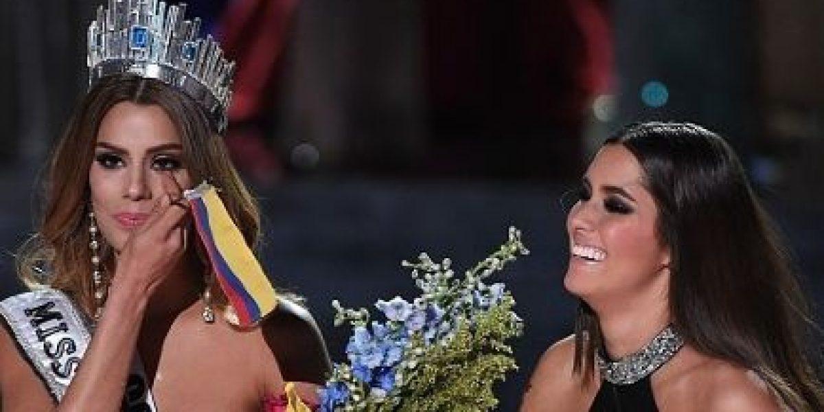 ¿Ex Miss Colombia no suelta el golpe de Miss Universo 2015?