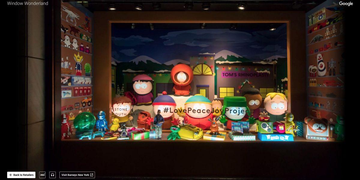 Así pueden ver las vitrinas navideñas de Nueva York sin tener que viajar