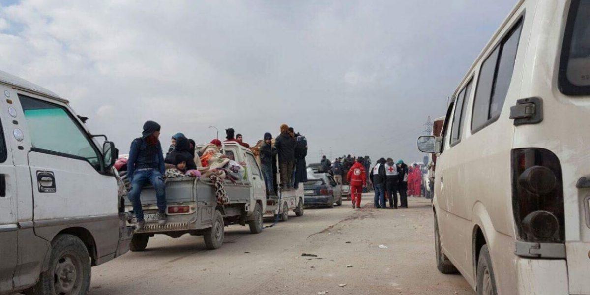 Fuerte nevada frena evacuaciones en Alepo