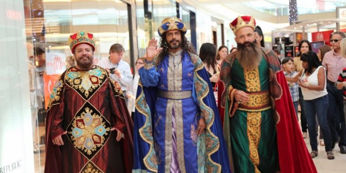 Llegan los Reyes Magos a The Mall of San Juan