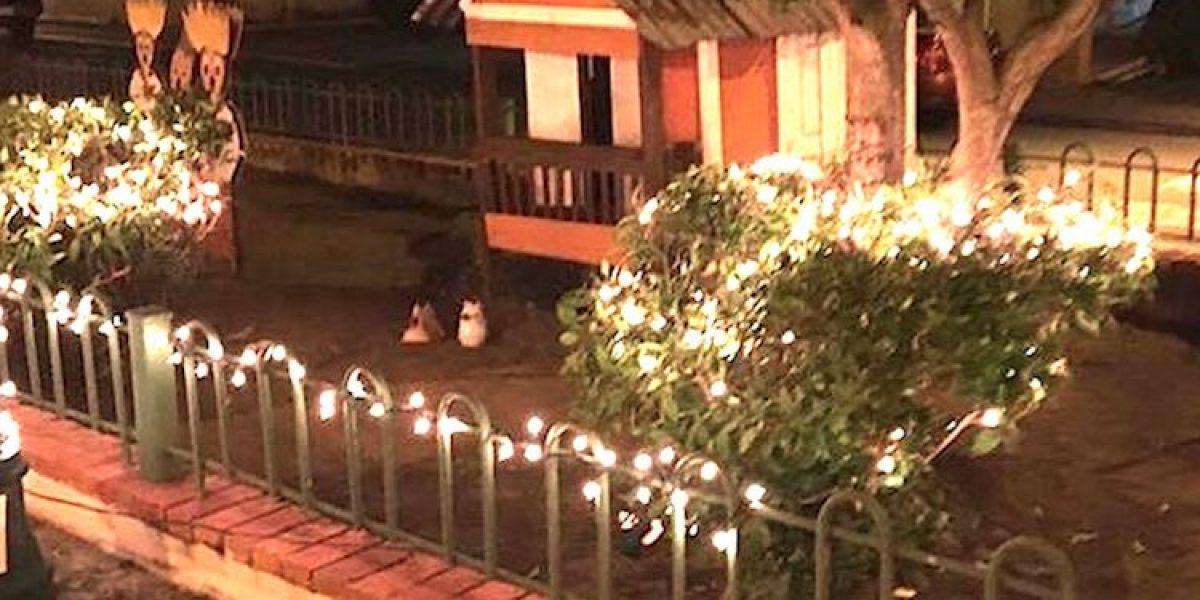 Vecinos se organizan e iluminan Loíza para recibir la Navidad