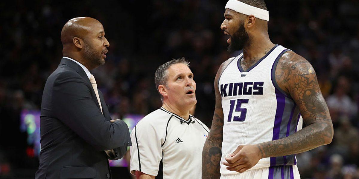 Cousins lidera nueva victoria de Kings con 32 puntos