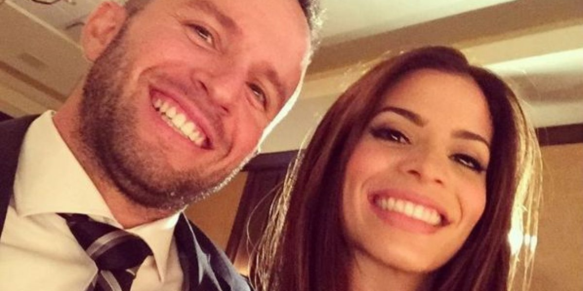 JJ Barea y Viviana Ortiz comparten divertida foto navideña