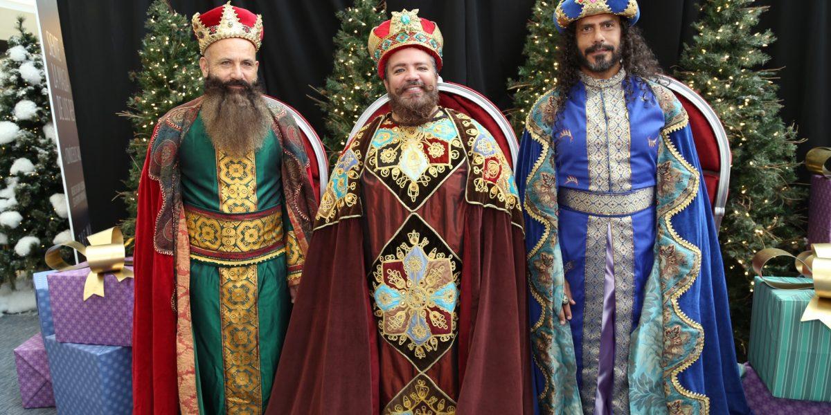 Llegan los Tres Reyes Magos