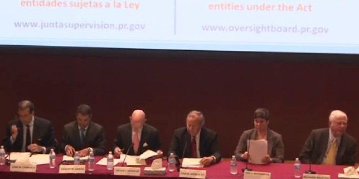 Junta de Supervisión Fiscal explica sus poderes al Gobierno