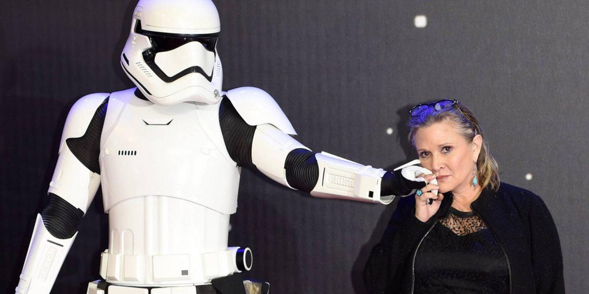 Fallece Carrie Fisher, conocida por su personaje de la princesa Leia en Star Wars