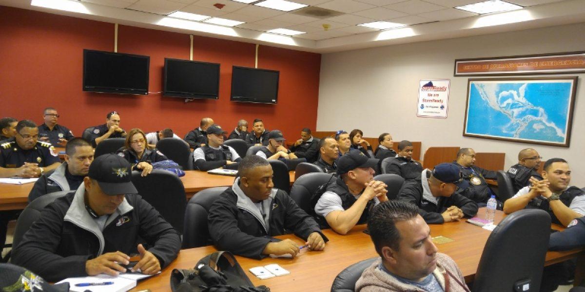 Policías municipales reciben primer adiestramiento para combatir el robo de cobre