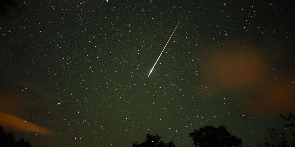 Impresionante lluvia de estrellas fugaces durante la semana entrante