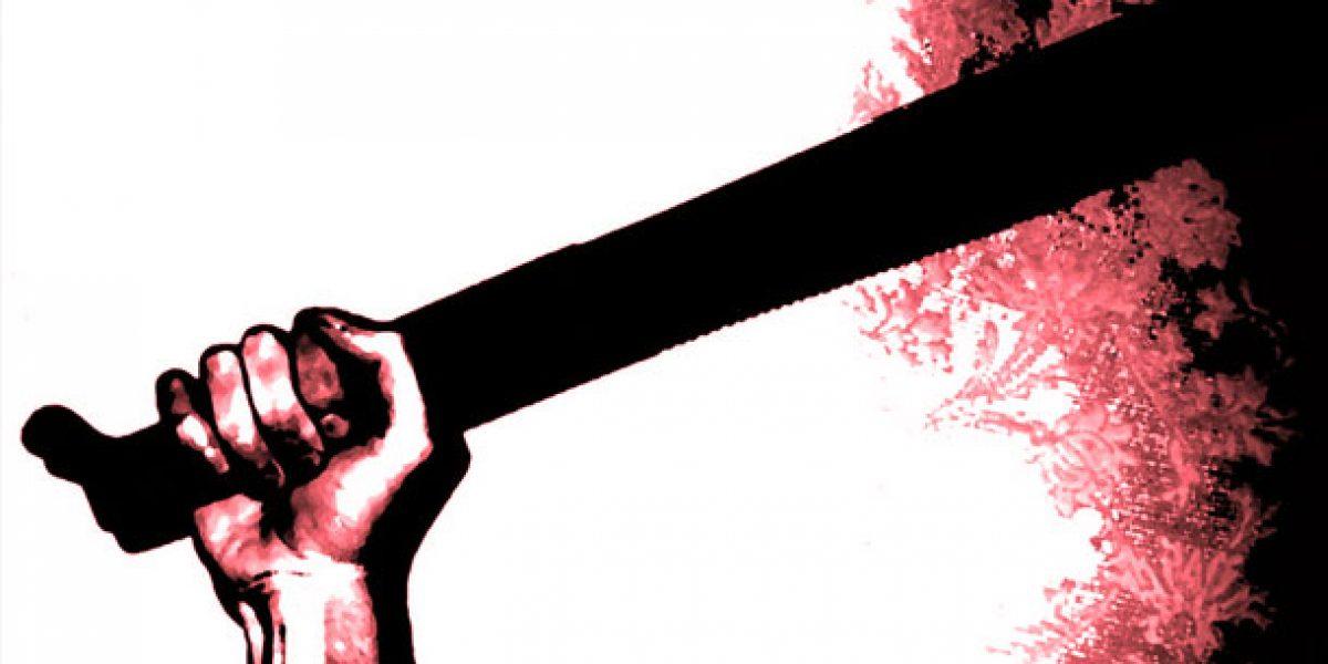 Agreden con machete a hombre en Peñuelas