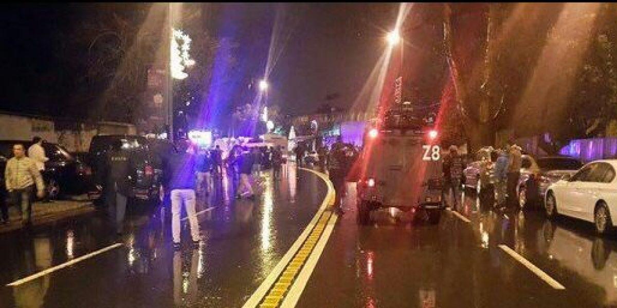 Al menos 35 muertos por ataque en club nocturno en Estambul