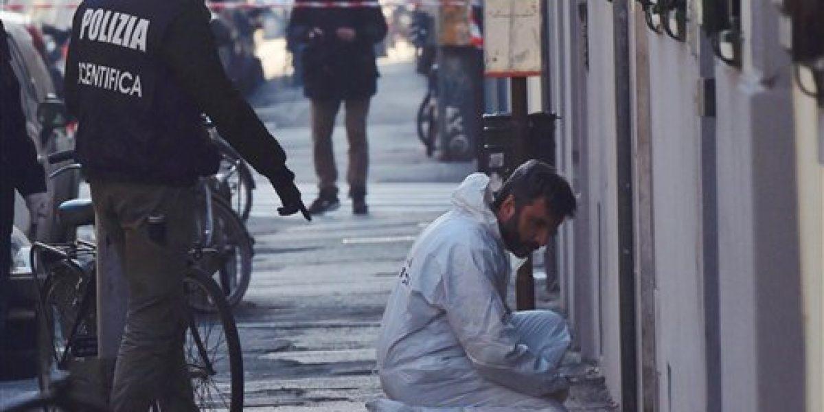 Policía antibombas pierde mano y ojo en Italia