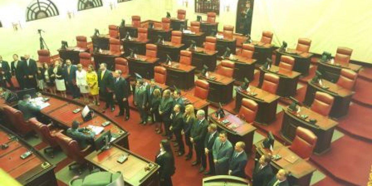 Juramentan legisladores de la decimoctava Asamblea Legislativa