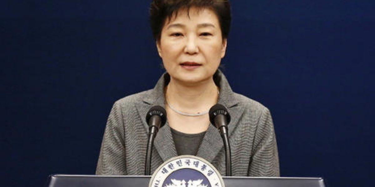 Presidenta surcoreana rechaza declarar en su juicio político