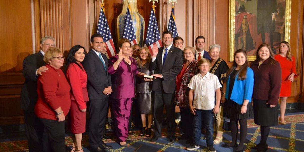 Jenniffer González es una de los seis boricuas en el Congreso