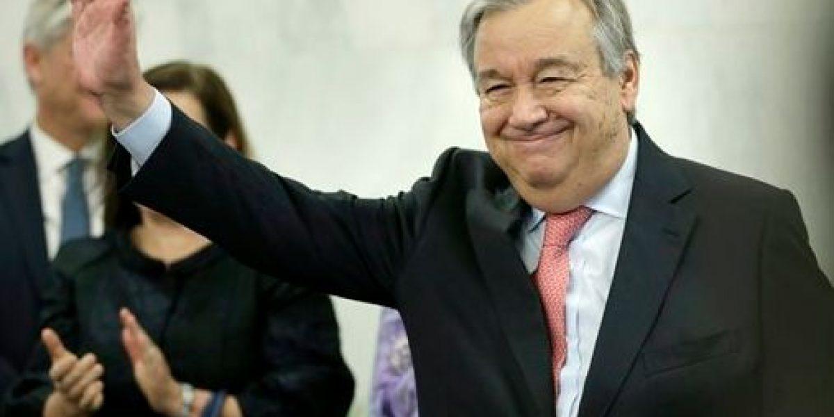 Nuevo jefe de ONU dice que
