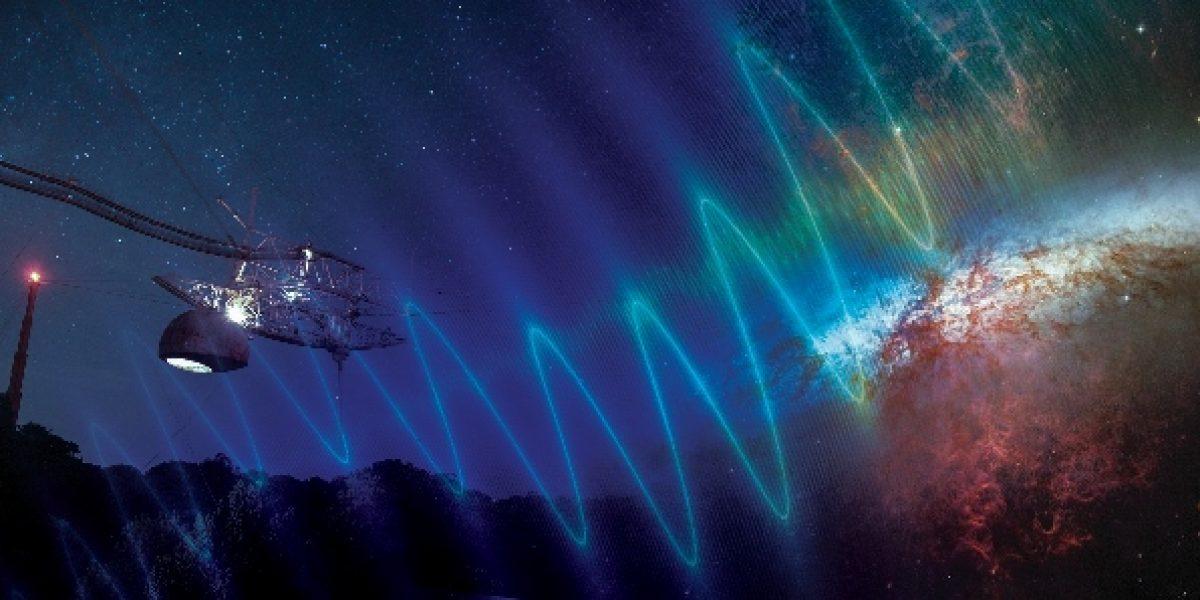 Observatorio de Arecibo colabora para precisar destellos misteriosos