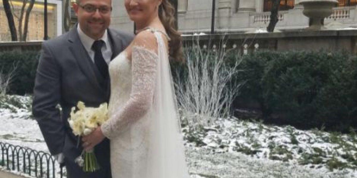 Deborah Martorell se casa en Nueva York