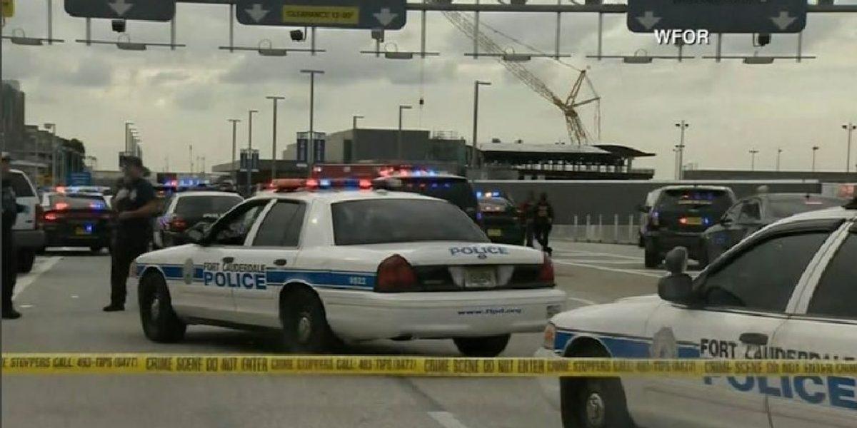 Reabre aeropuerto Ft. Lauderdale tras matanza