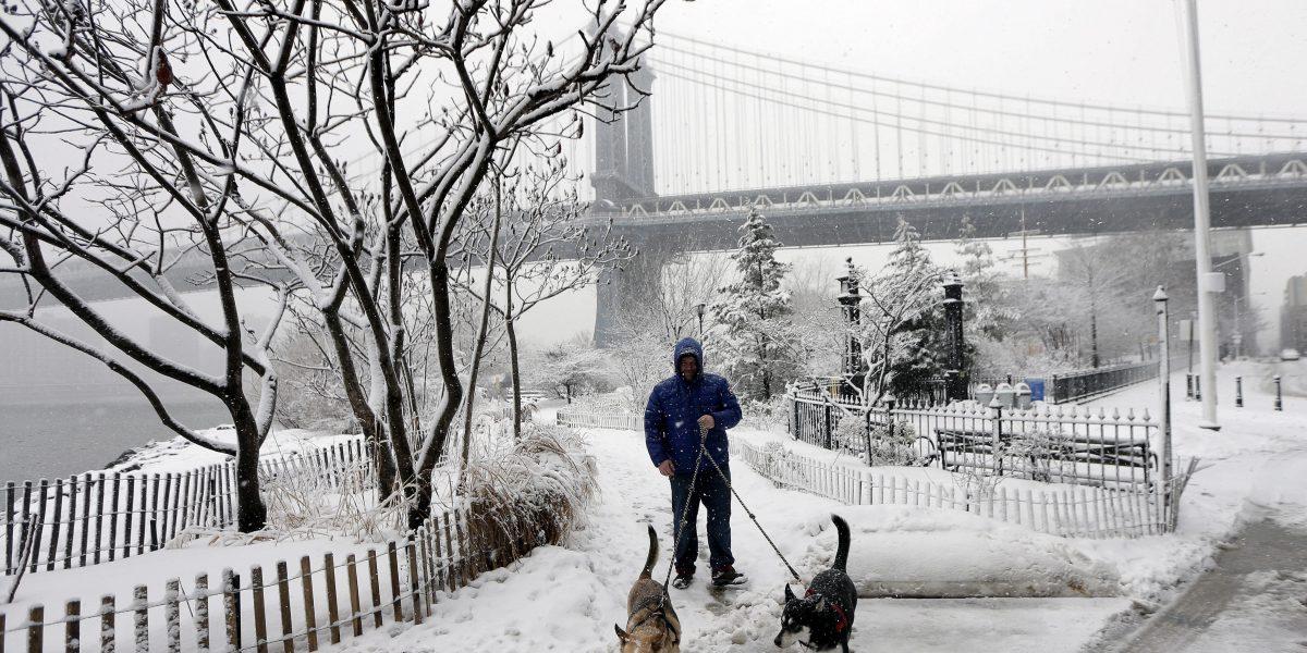 Primera tormenta invernal fuerte de la temporada afecta a Nueva York