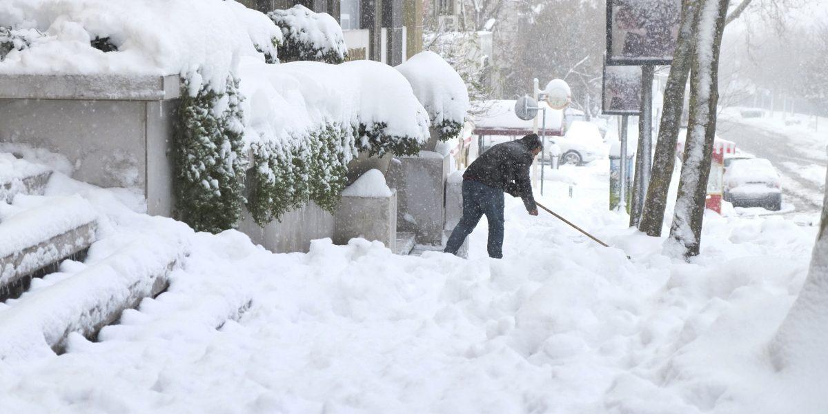 10 impactantes imágenes de las nevadas en Europa