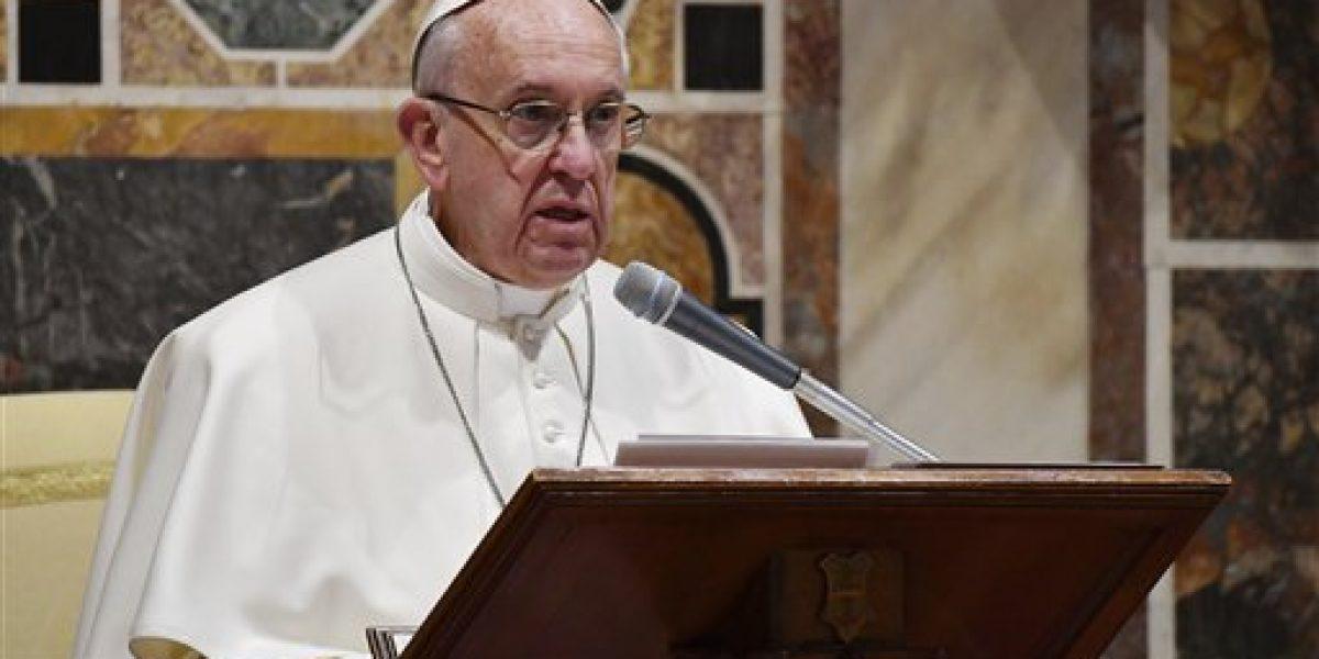 Papa: europeos deben redescubrir su identidad
