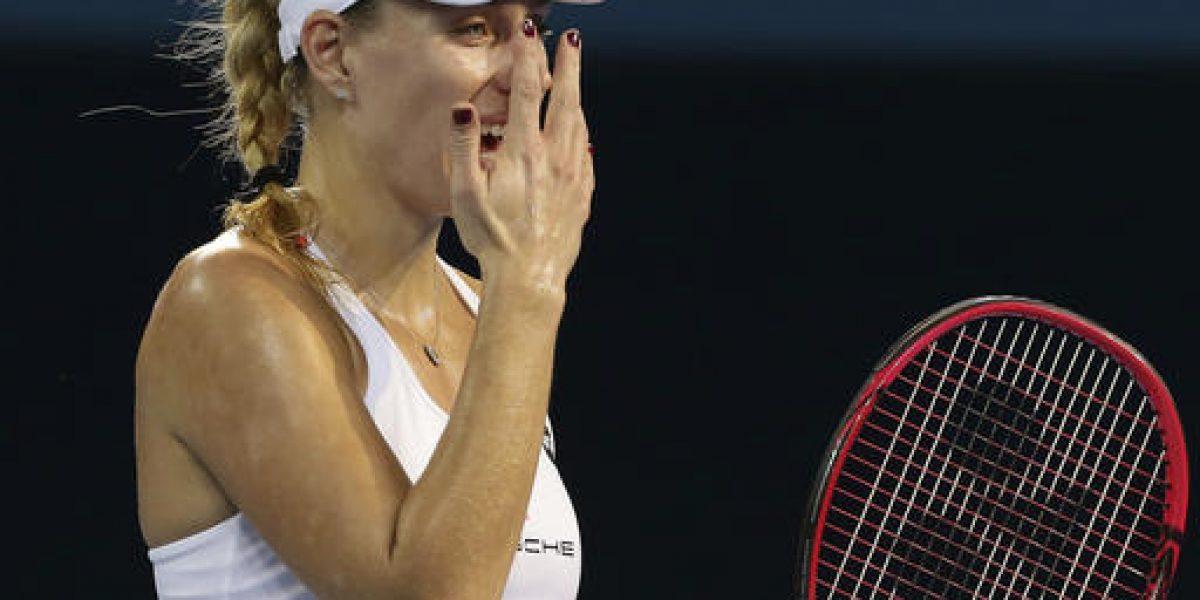 Angelique Kerber pierde su primer partido en Sydney