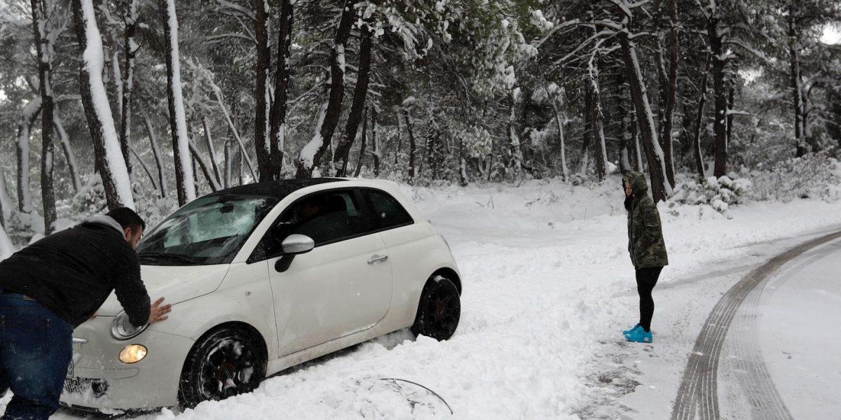 Ola de frío en Europa atormenta a los más vulnerables