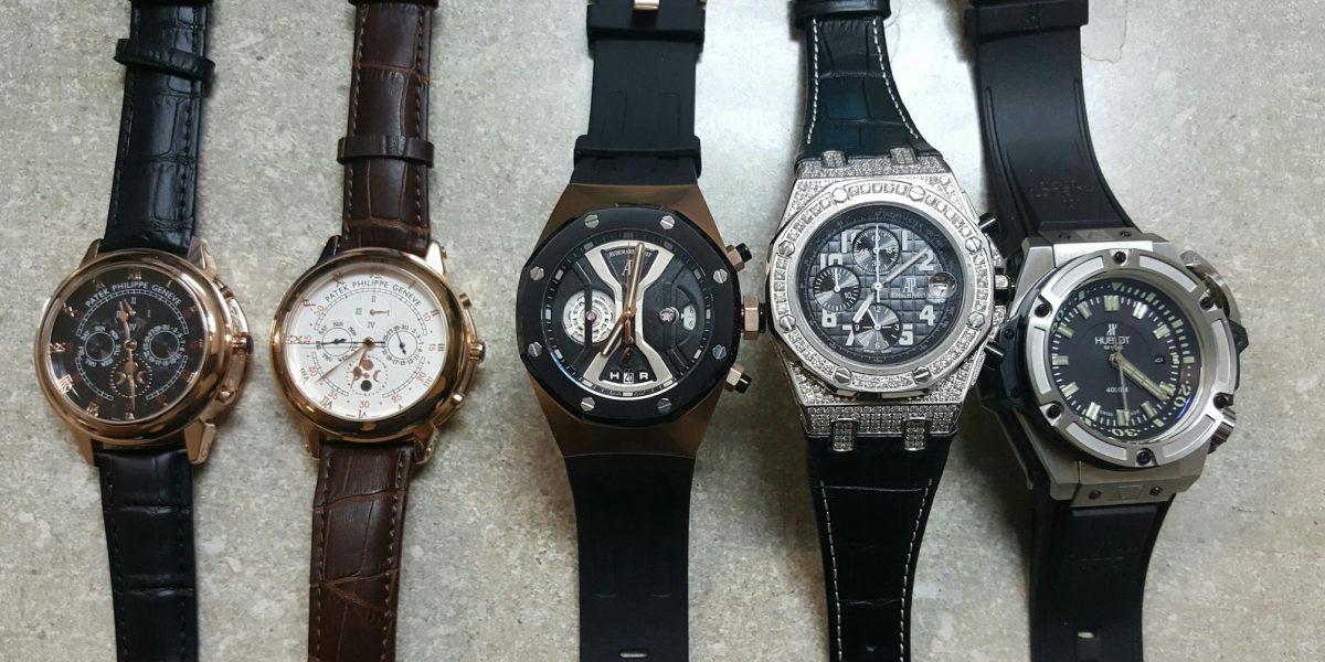 Confiscan relojes de lujo fraudulentos en puerto de San Juan