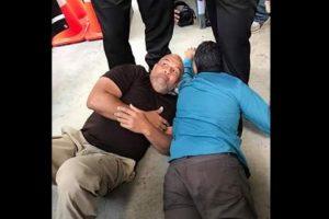 Denuncian arresto de manifestantes por excarcelación Oscar López