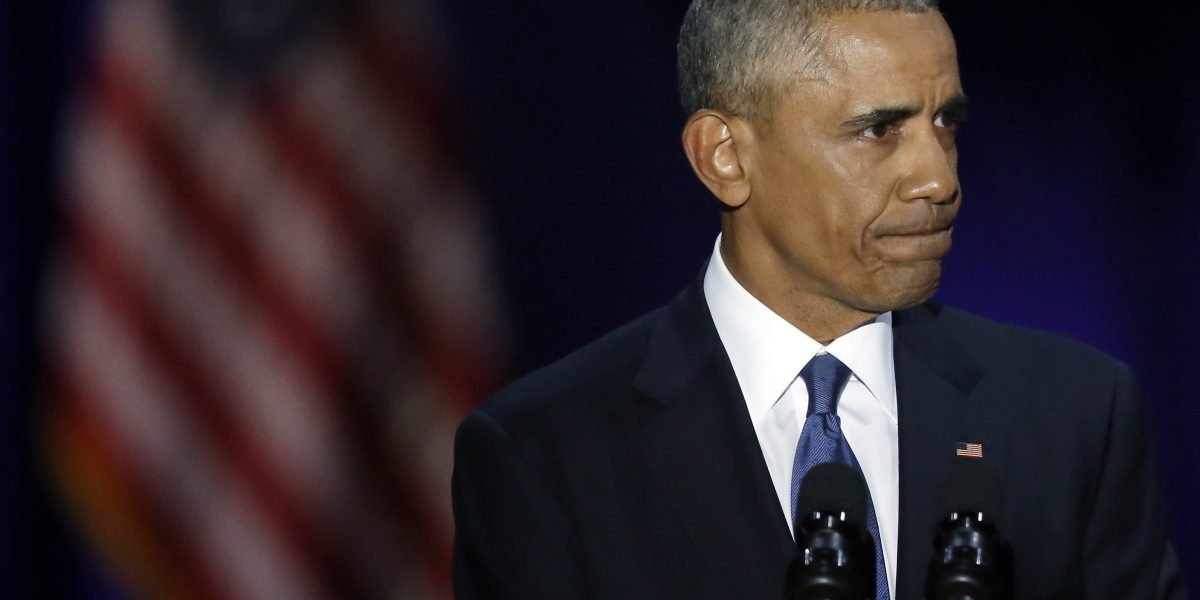 Obama dice estar