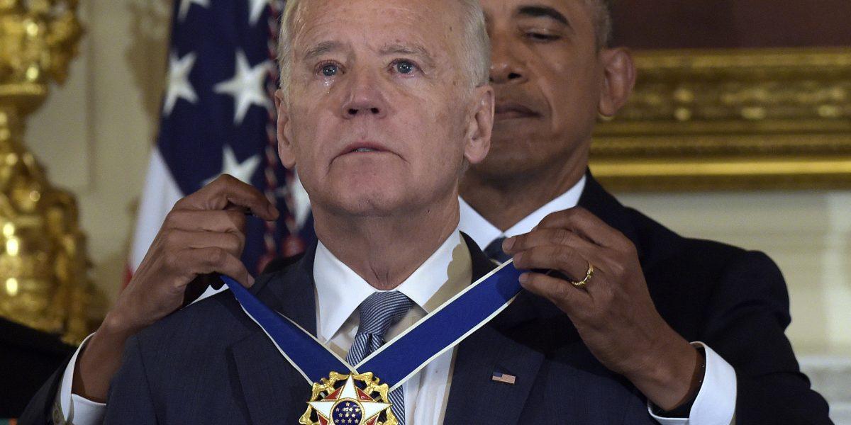 Medalla Presidencial de la Libertad para vicepresidente de Estados Unidos