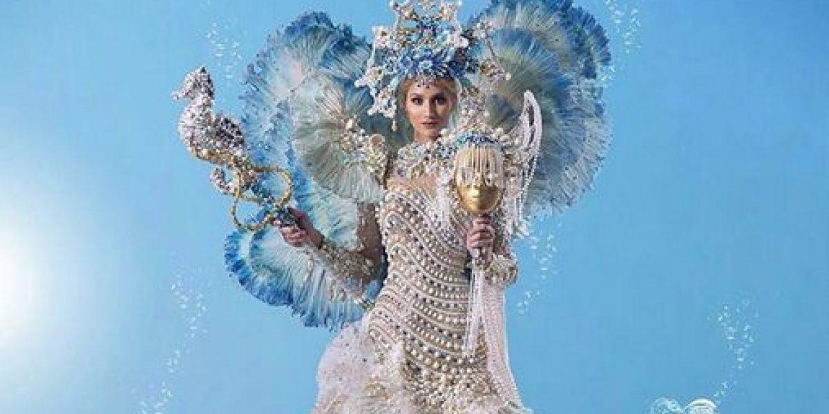 Impacta traje típico de Miss Venezuela