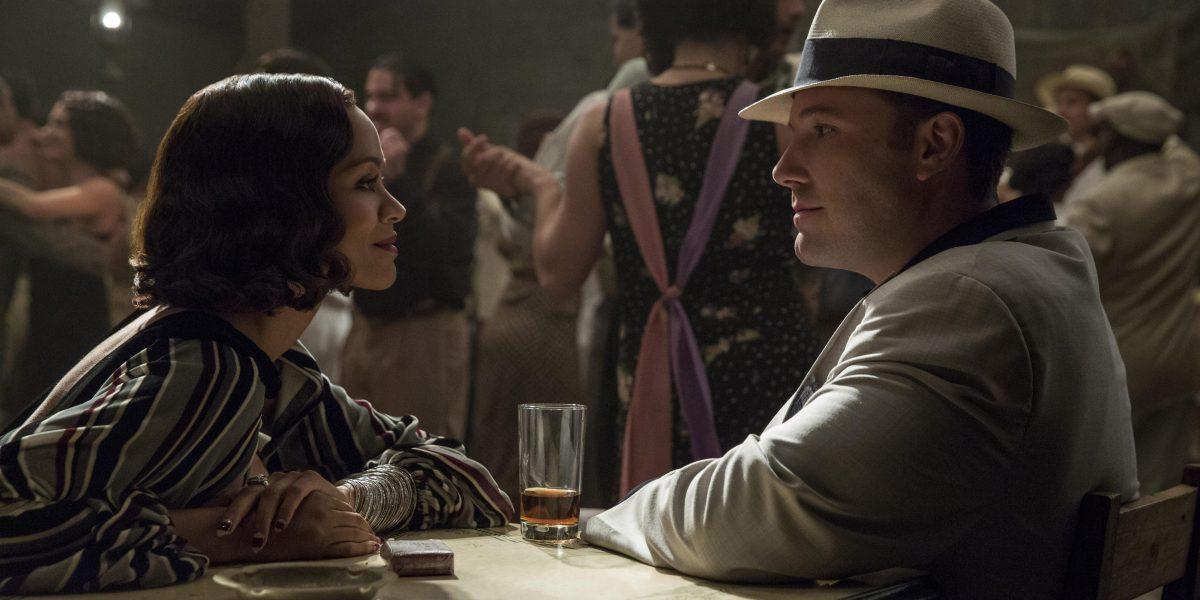 Zoe Saldaña, un rayo de luz en la noche de Ben Affleck