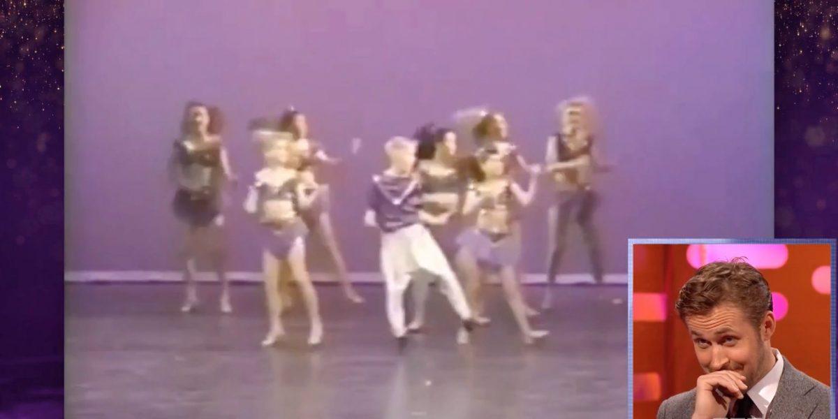 Avergonzado Ryan Gosling tras verse bailando de pequeño
