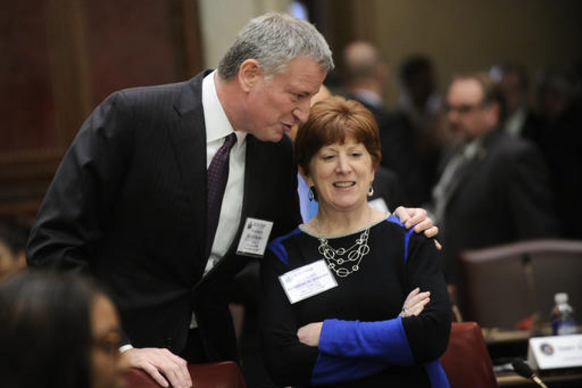 Mayor Bill de Blasio, Mayor Katherine M. Sheehan