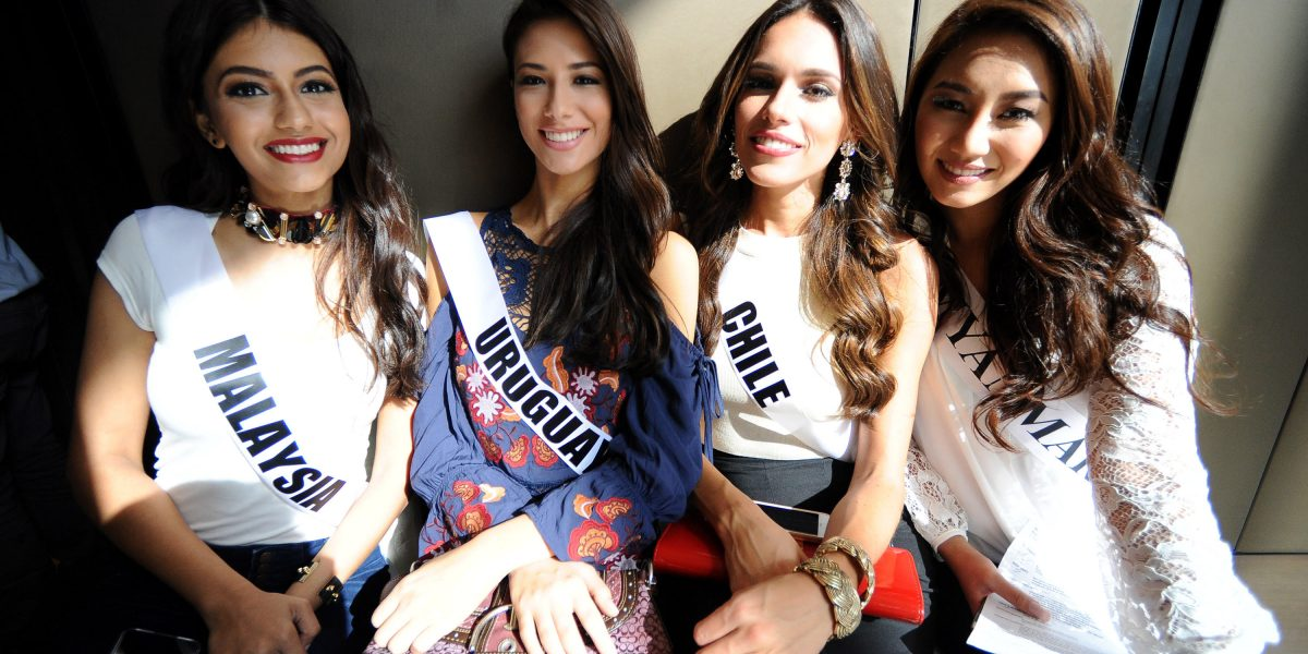 Llegan a Filipinas las candidatas a Miss Universo