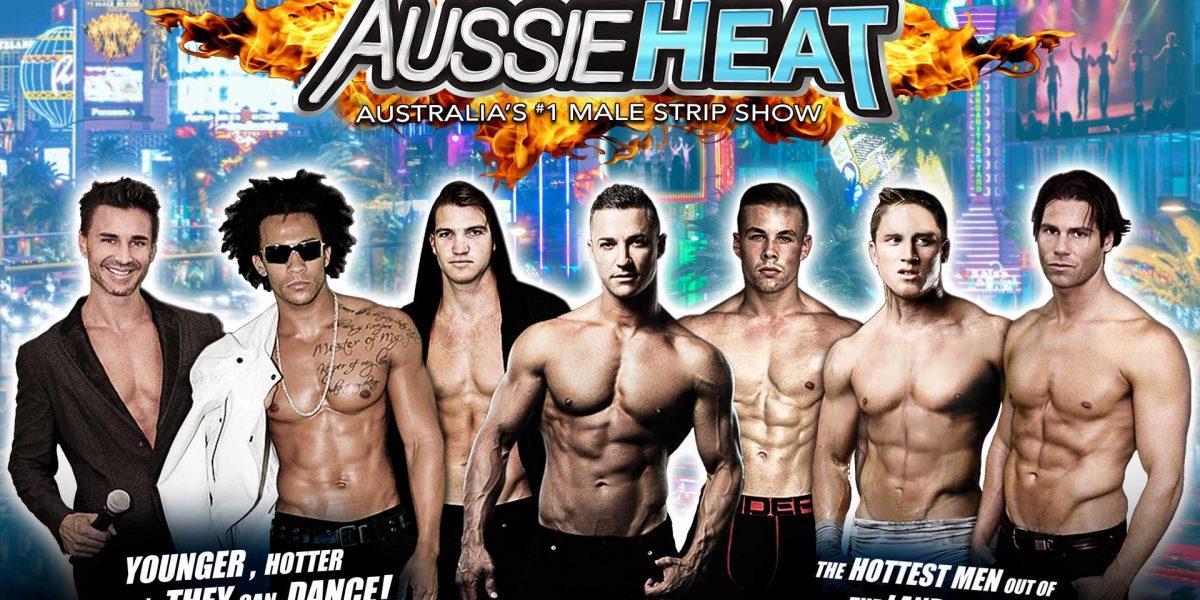 Directamente desde Las Vegas llegan los strippers del Aussie Heat a Puerto Rico